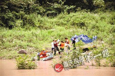 驴友不信邪汛期露营河滩上河水暴涨险遇难(图)
