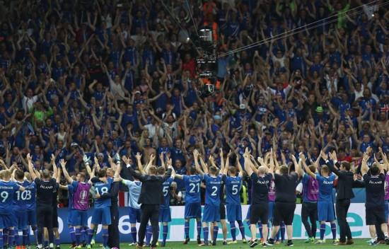 八分之一决赛:冰岛淘汰英格兰晋级八强