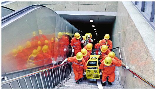 北京市城市道路养护管理中心举办城市道路汛情应急演练