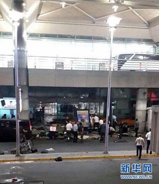 土耳其开塞利机场传出枪声 有两人受伤已被送医