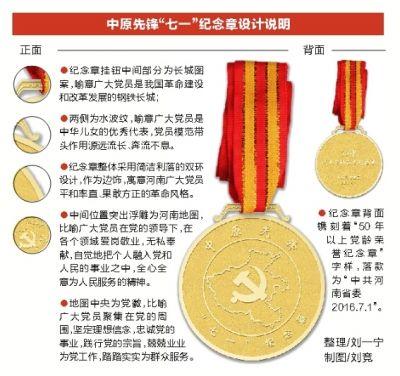 河南首次向50年以上党龄老党员颁发纪念章