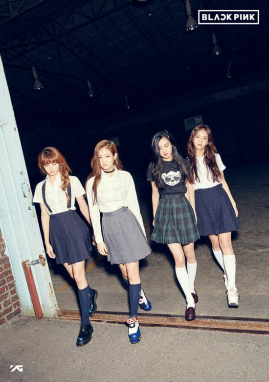 YG新女团确定名称Black Pink 四人组合出道