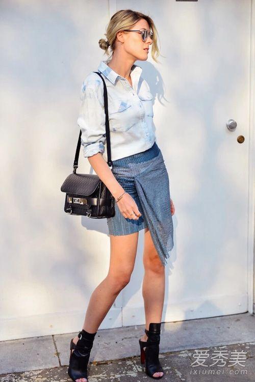 夏季穿衣拒绝单调 学学12个百变look 夏天怎么穿好看