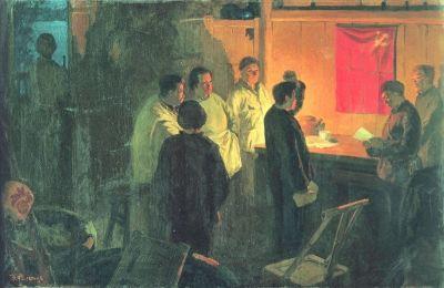 中华颂_丹青画卷颂党史--庆祝中国共产党成立95周年大型专题--人民网