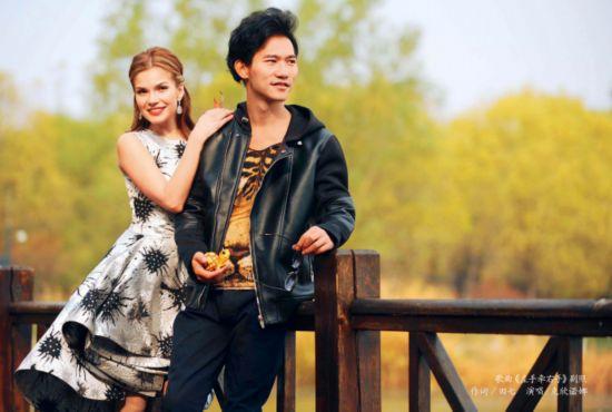 俄歌唱家克欣诺娜将访华拍摄歌曲《寻茶到黄村》MV93.png