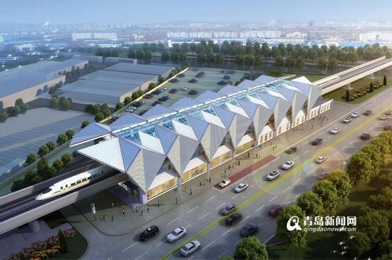 山东新闻    地铁13号线车站外立面将主要采用钢结构,金属面板,玻璃等