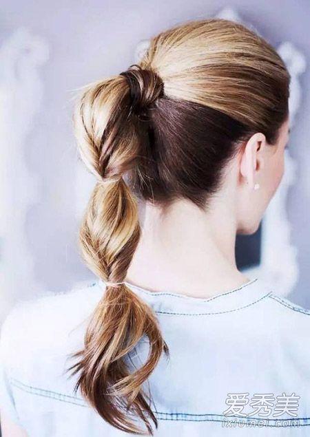 夏季长发的7种扎法 竟然一大半都是马尾