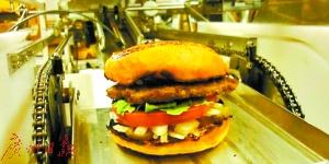 机器汉堡店将登陆旧金山 1小时可制作包装400个汉堡