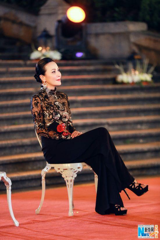 林青霞支持刘嘉玲上《我们来了》:这节目值得去