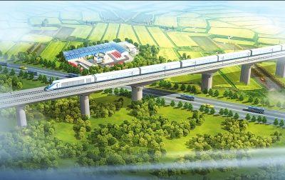 新野速度 延续郑万高铁建设南阳神话