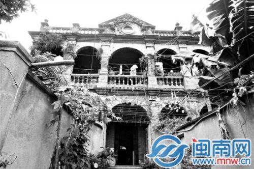漳州市芗城区巷口街道新行街5号的陈氏家宅