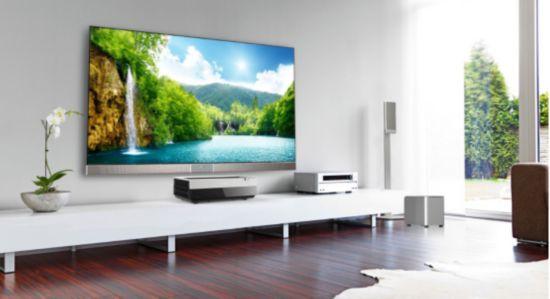 海信发布全球首款DLP超短焦4K激光影院电视