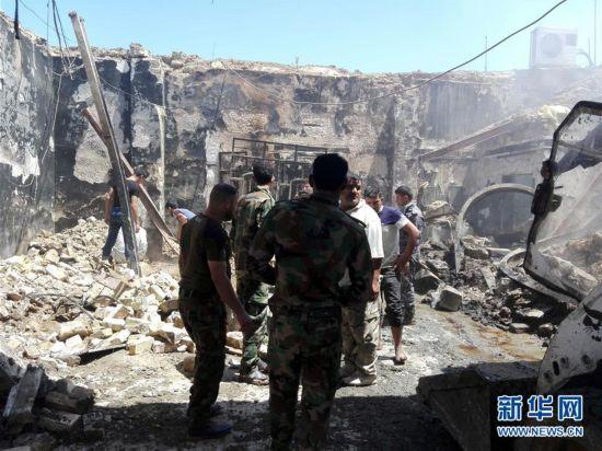 伊拉克中部自杀式爆炸袭击死亡人数升至35人【2】