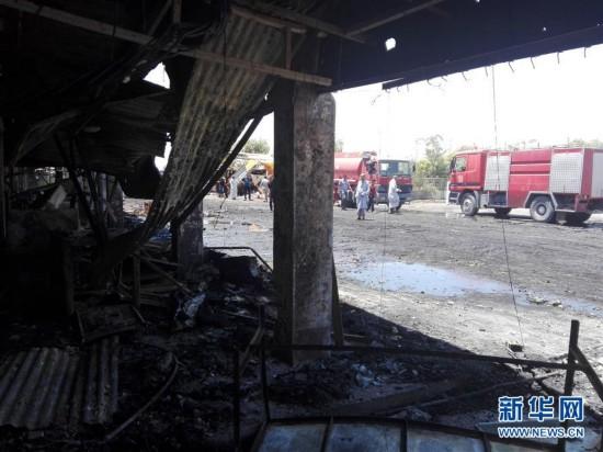伊拉克中部自杀式爆炸袭击死亡人数升至35人