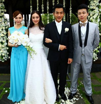 林心如霍建华陈妍希陈晓两场盛世婚礼将近 曝最美伴娘团