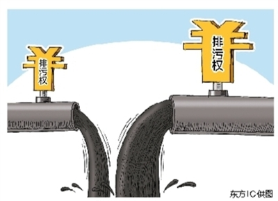 陕西规定企业排污权须购买 用不...