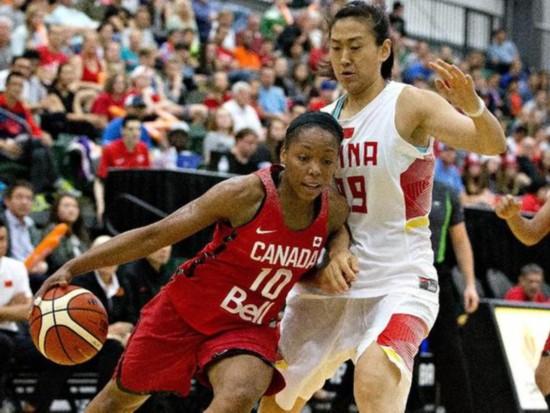热身赛:中国女篮59-71负加拿大遭遇三连败