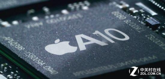 iPhone 7搭载A10性能曝光 双核秒杀十核