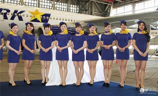 天马视频今年秋季起使用新一代空乘制服航空心的黑图片