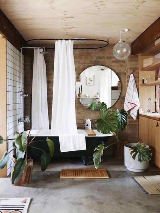 古朴意境乡野之味 8款原木风卫浴间