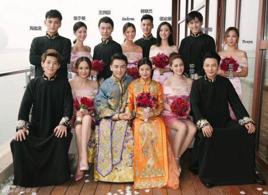 陈乔恩林心如唐嫣 这些美艳明星都做过别人的伴娘