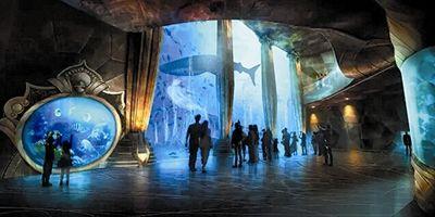三亚亚特兰蒂斯水族馆效果图图片