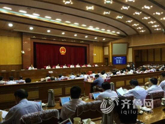 今天上午,省十二届人大常委会第二十二次会议在济南闭会,会议表决通过任命孙立成为山东省副省长、省公安厅厅长。