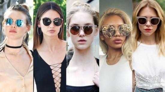 一秒打造明星感 选对墨镜让你走路都有风 墨镜搭配