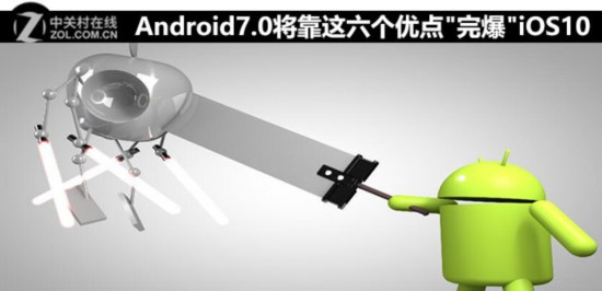 Android7.0将靠这六个优点