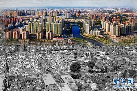 唐山地震40周年・废墟上站起一座城
