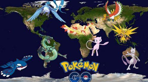 为抓精灵被困树上pokemongo风靡全美盘点pokemongo精灵图鉴大全