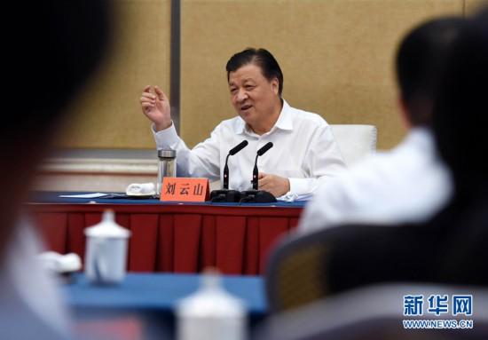 刘云山:筑牢思想根基 聚焦突出问题 确保学习教育取得实实在在成效