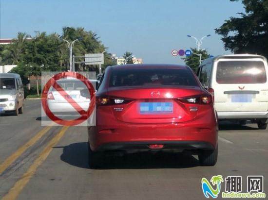 道路交通标线你懂吗?压线会被罚