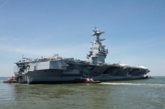 尚未做好战斗准备 美国最贵航母再次延迟交付