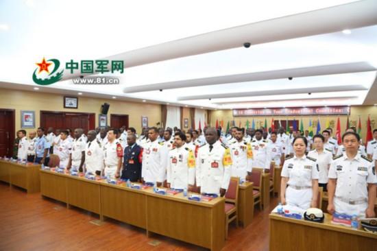 """外训学员毕业季,快来听听他们对中国海军的深情""""表白""""(组图)"""