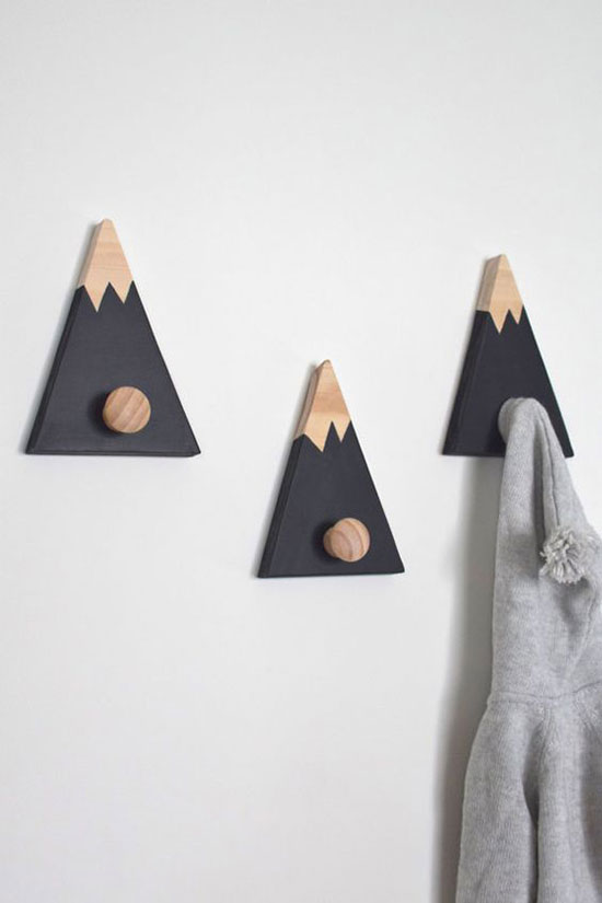挂在墙上的小玩意儿 又能收纳又好看