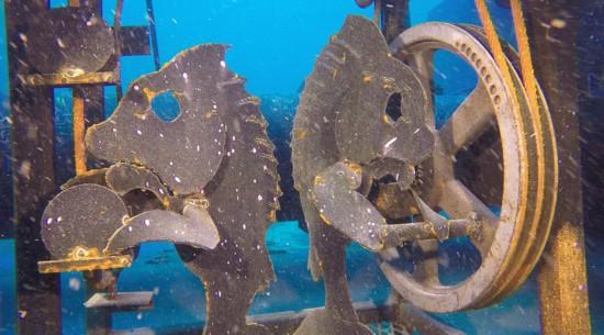 美国修建世界上首个水下艺术画廊