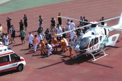 从延庆转运伤员到北医三院仅需半小时