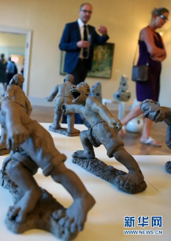中国当代艺术家作品在德国展出