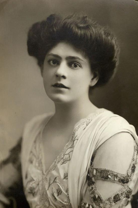 100年前的西方女明星 个个美如梦中女神(高清