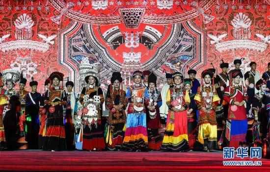 四川:彝族传统选美 展现民族风采