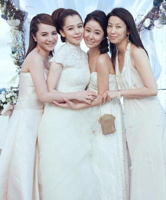 林心如霍建华婚礼请来半个娱乐圈赵薇苏有朋六神丸视频图片