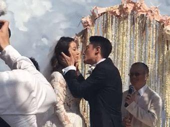 林心如霍建华巴厘岛大婚土豆现场曝光林心如婚礼视频v土豆图片