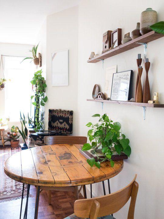 小餐厅配小圆桌 温馨就在方寸之间