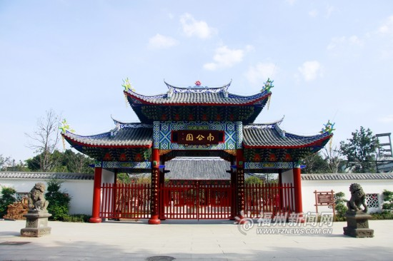 爱上福州城:南公园8月开园  300年皇家园林再现新颜