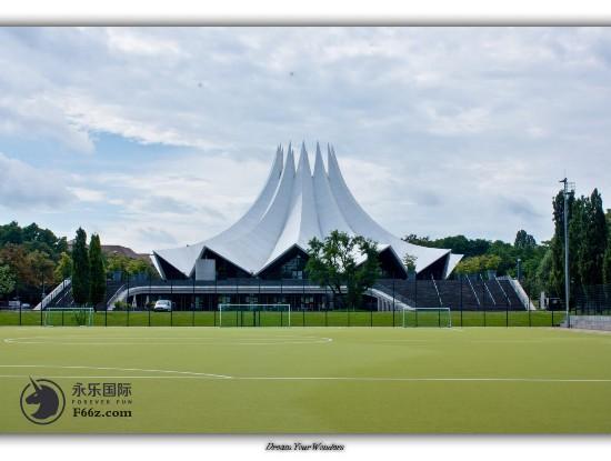 德国瑰宝级建筑Tempodrom风光无限永乐国际赞助2017德国大师赛