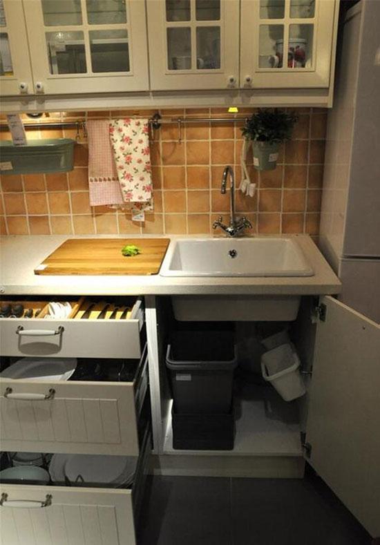 全方位搞定垃圾收纳 还你一个干净厨房