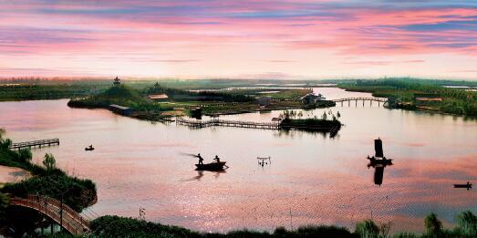 p70-瀛东生态村是崇明岛最早迎来旭日东升的地方
