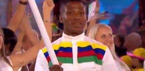 纳米比亚旗手