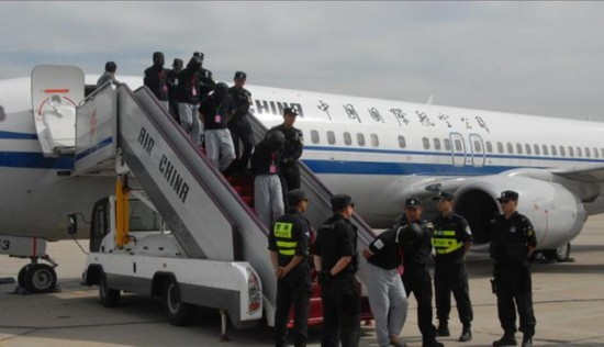 40名電信詐騙犯罪嫌疑人從肯尼亞被押解回國